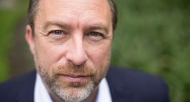 Headshot of Jimmy Wales, founder of Wikipedia