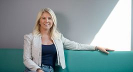 Photo of Elina Berglund, CEO of fertility app Natural Cycles