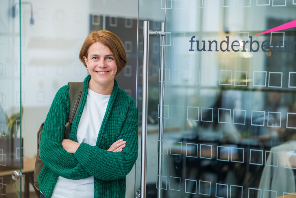 Funderbeam CEO and founder Kaidi Ruusalepp