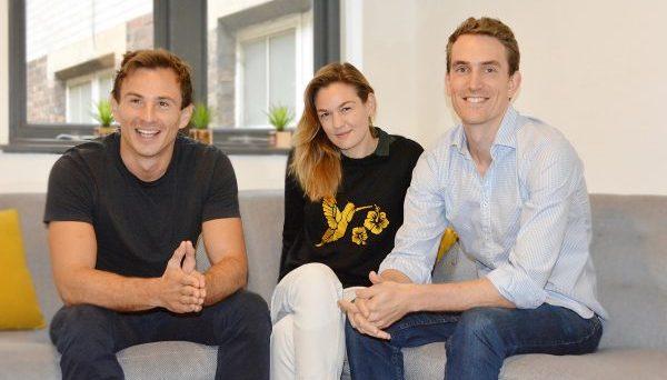 Forward Health founders Philip Mundy, Lydia Yarlott and Barney Gilbert