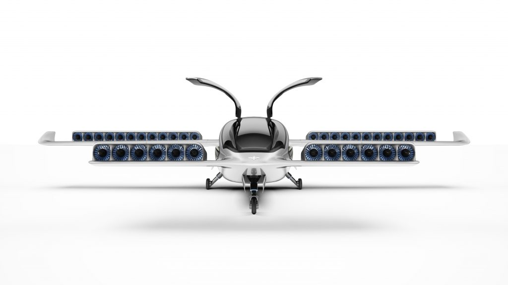 Lilium's all-electric, vertical take-off jet