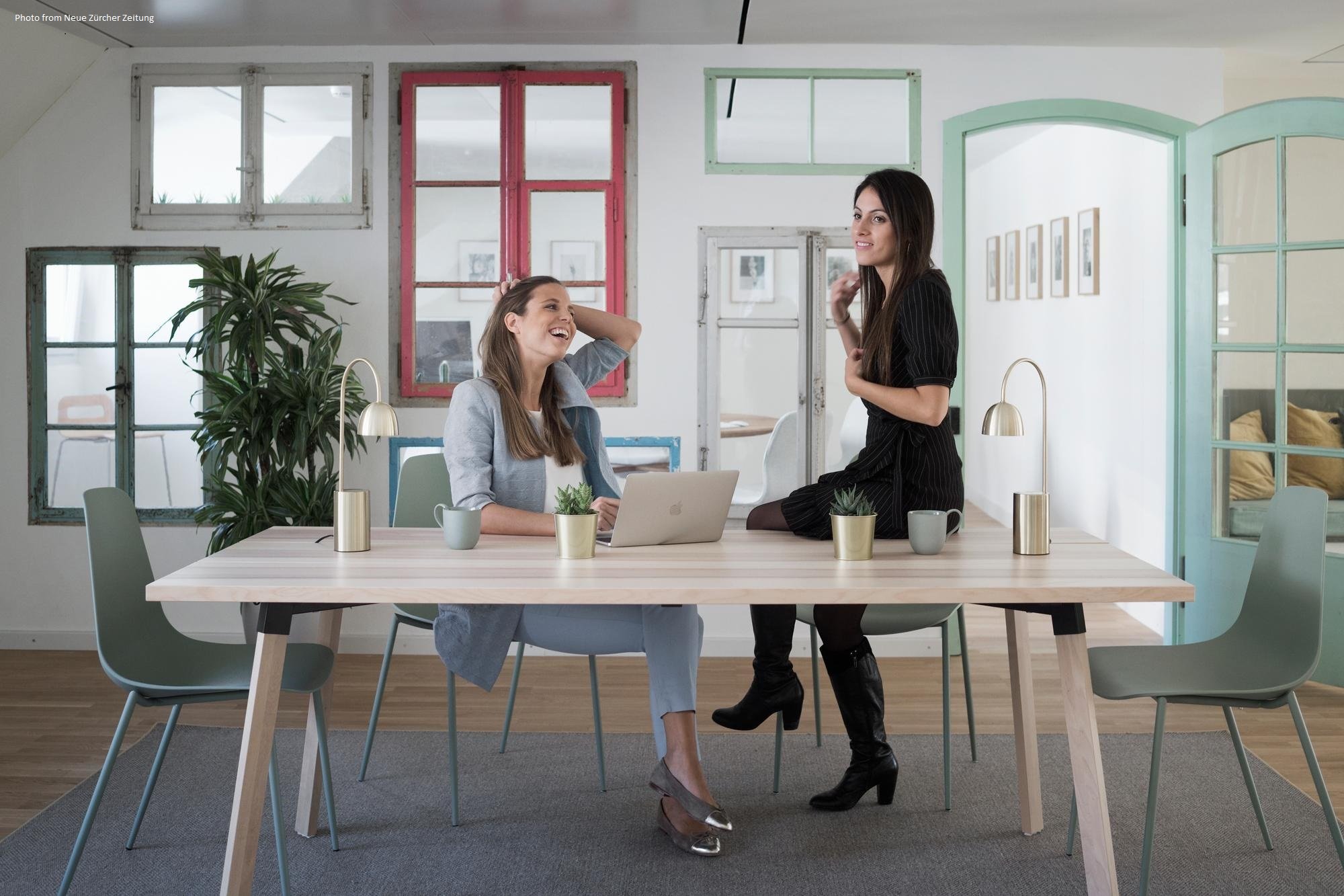 WeSpace the women-centric work hub in Zurich.