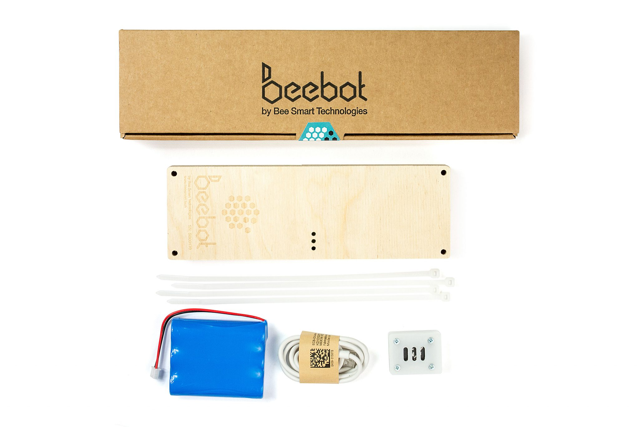 A Pollenity Beebot smart hive monitor kit.