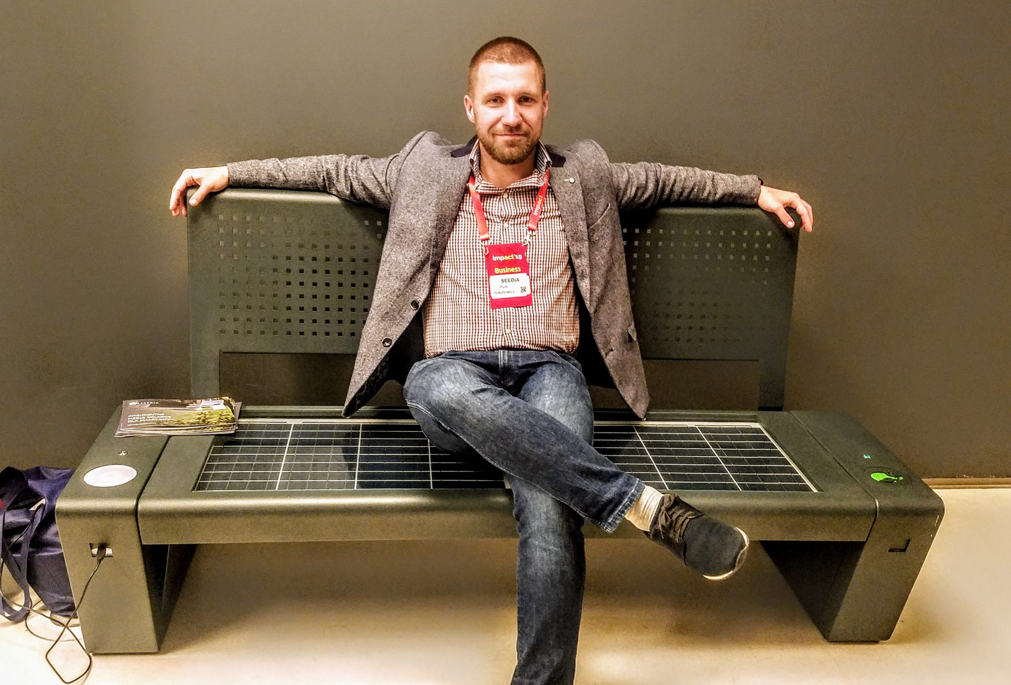 Piotr Hołubowicz, CEO of Seedia