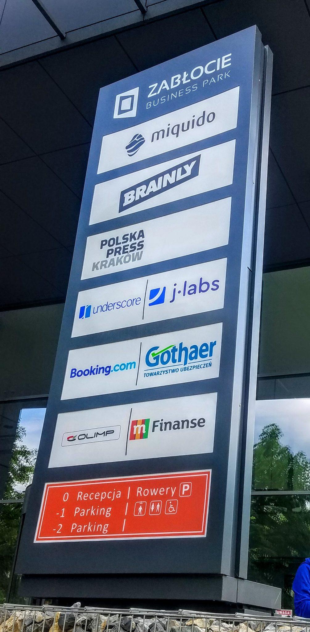 Krakow's bigger technology companies flock to Zablocie