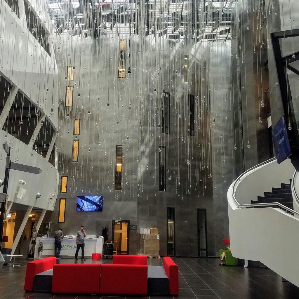 Krakow Technology Park's main hall