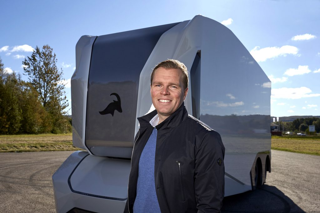 Picture of Robert Falck, founder of Einride, for Sifted's Tech Innovators List
