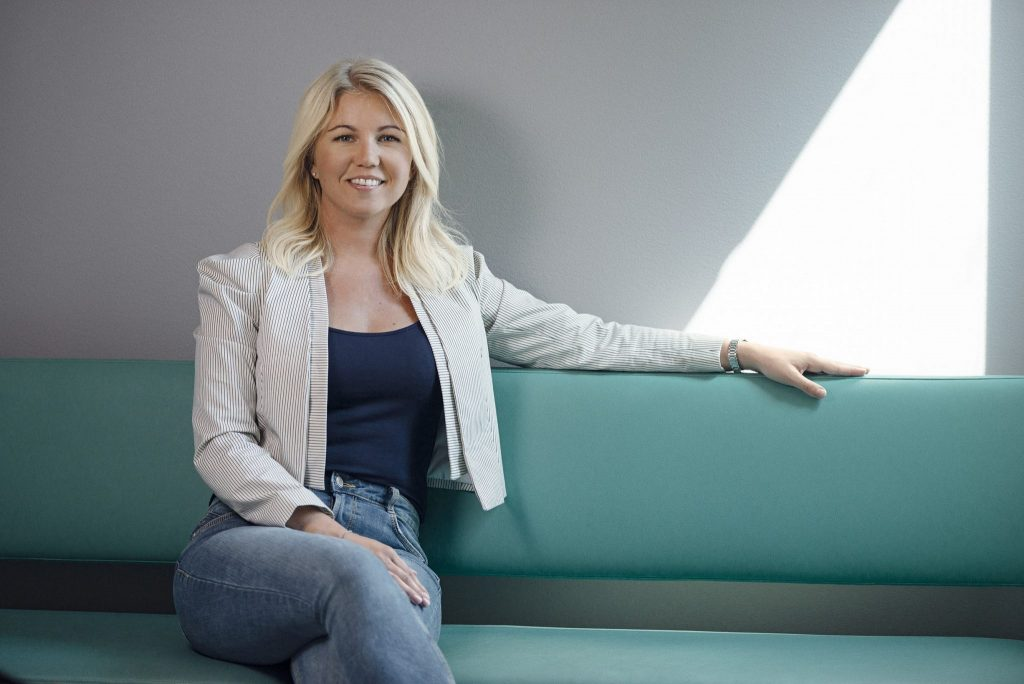 Picture of Elina Berglund, co-founder of Natural Cycles, for Sifted's Tech Innovators List