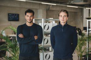 Milan Daniels and Max Klijnstra, founders of Otrium