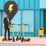 Bolt with scooter