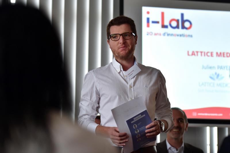 Julien Payen, cofounder Lattice Medical.