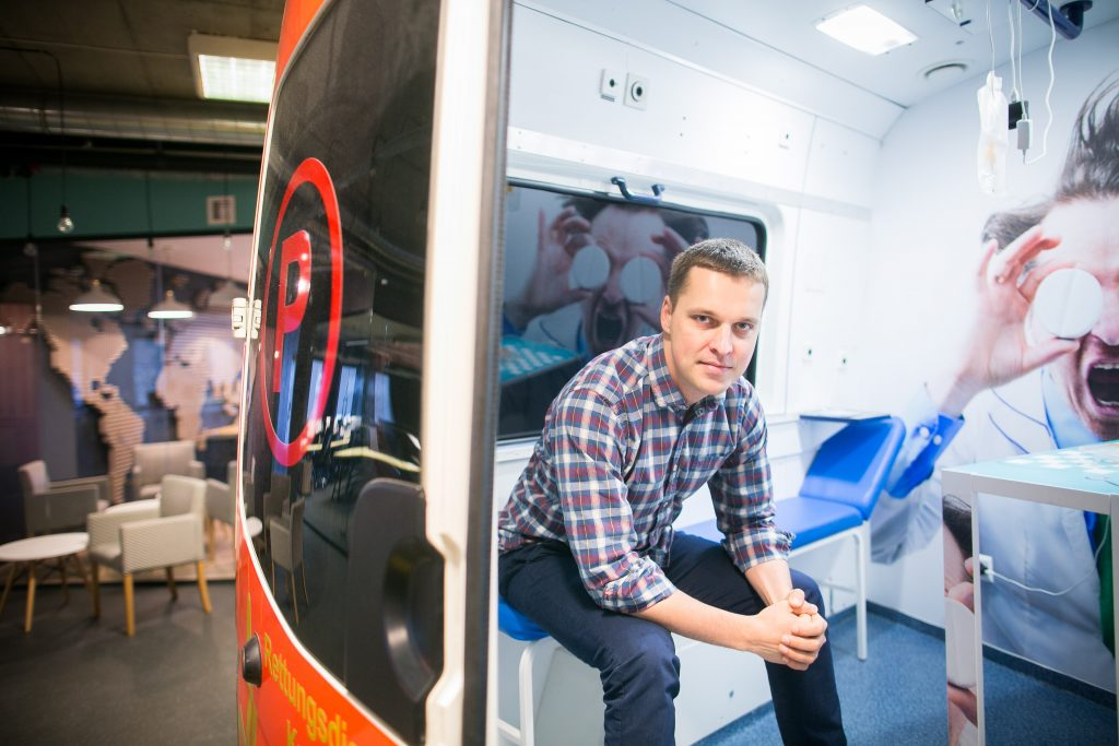 Mariusz Gralewski, CEO of Docplanner