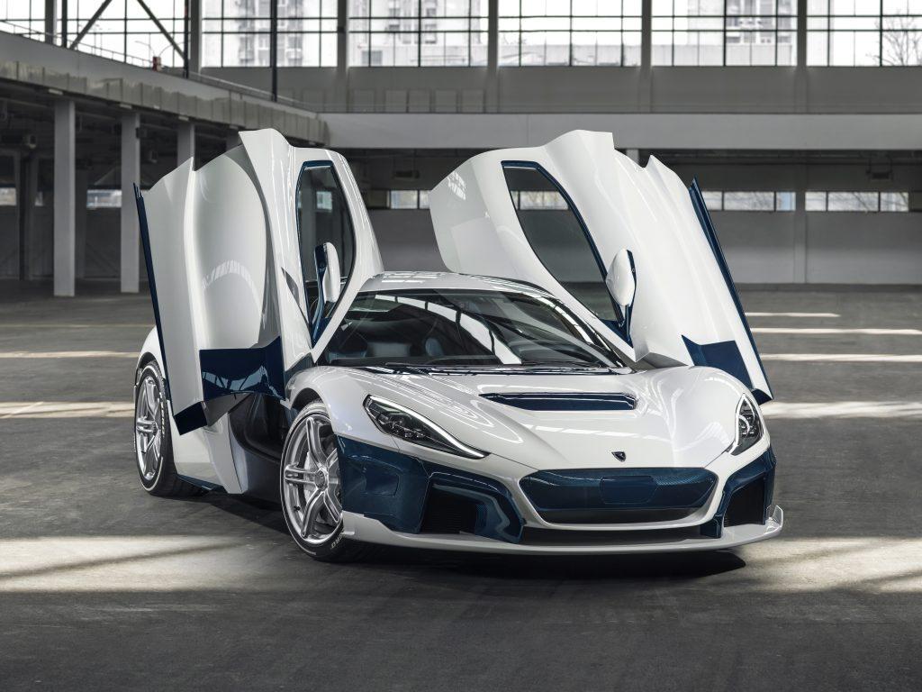 Rimac's electric supercar