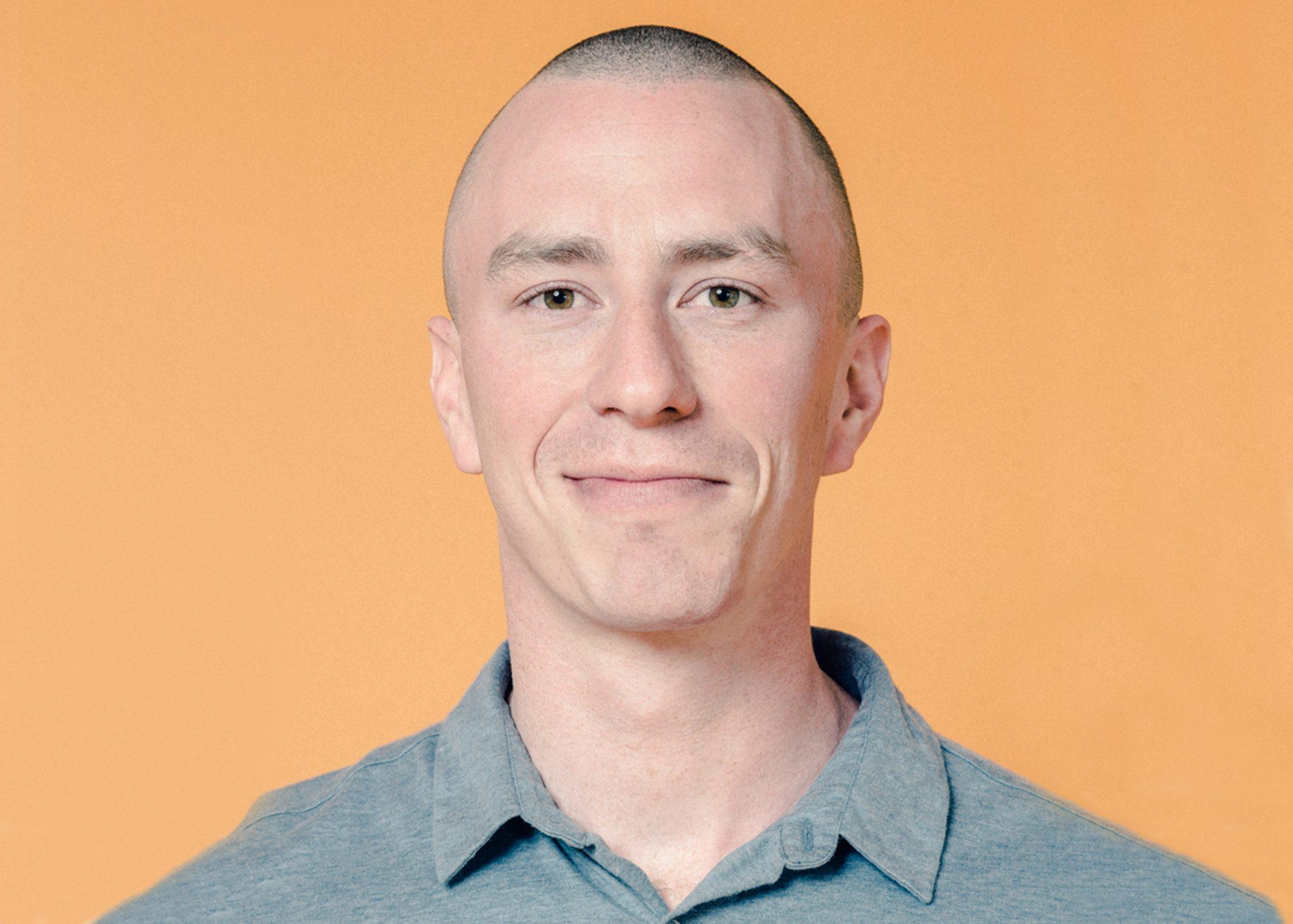 Photo of Dan Garrett, CEO of legal tech startup Farewill.