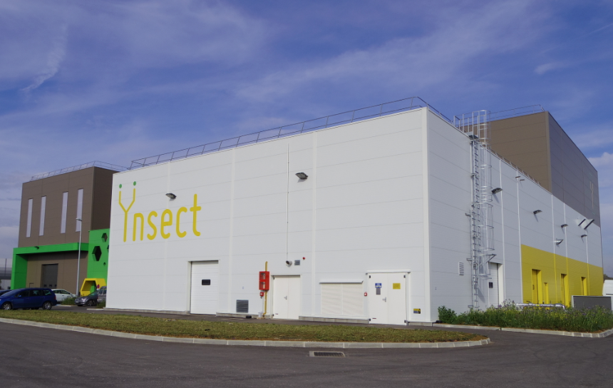 Ynsect's factory in Dole, eastern France