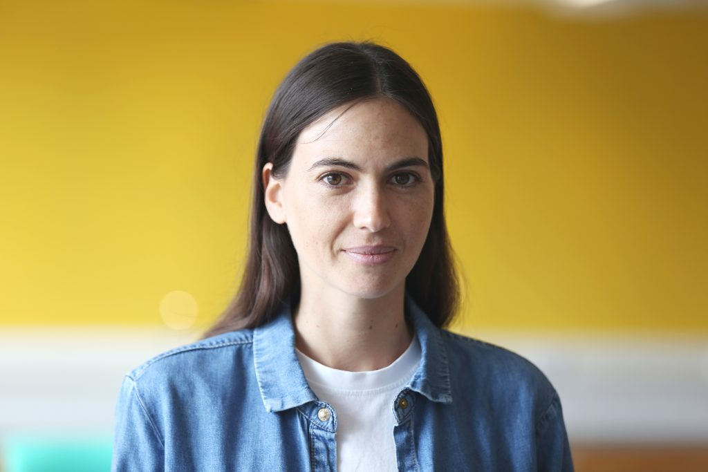 Photo of Geraldine de Boisse, chief product officer at Bulb.