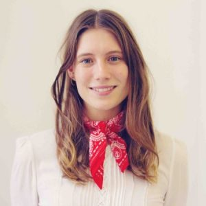 Photo of Clementine Hobson, head of brand at Bulb.