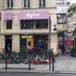 Daphni house front