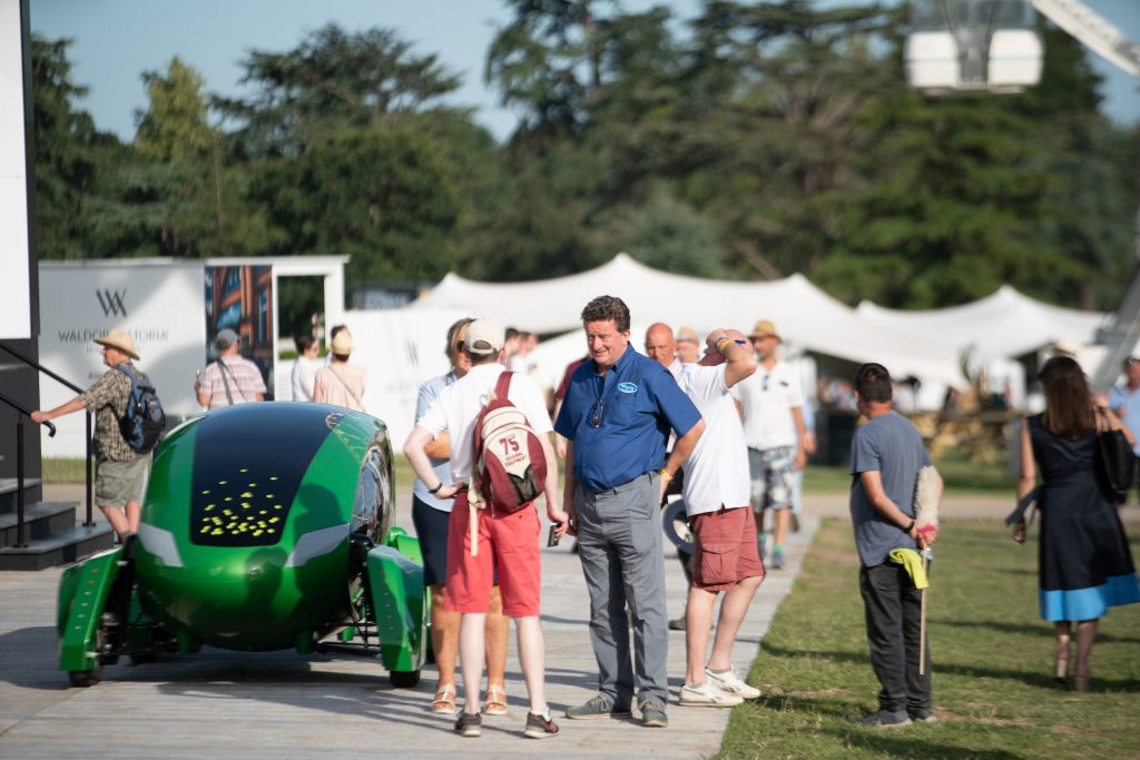 Kar-go was launched at Goodwood