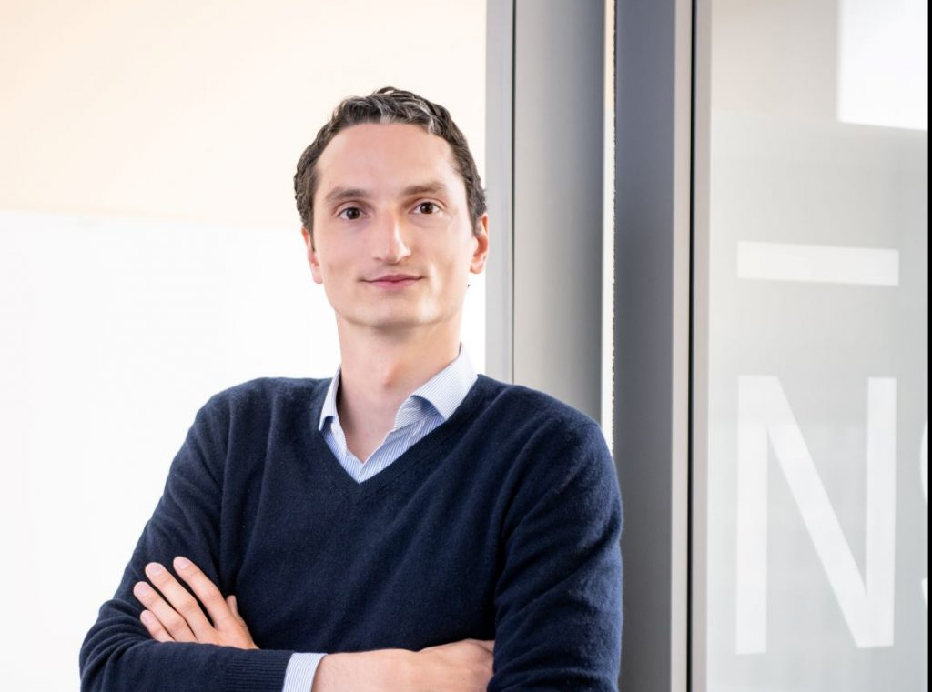 Photo of Nicolas Kopp, CEO of N26 in the US.
