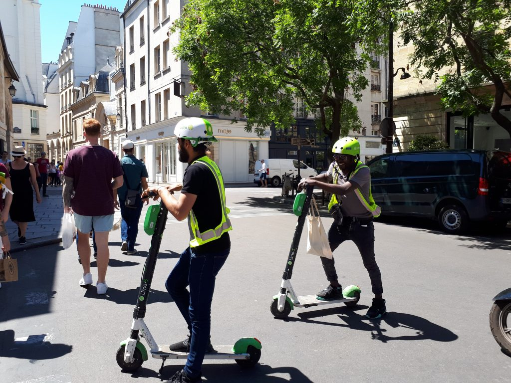 Scooter startups: a comparison of the European scooter