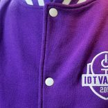Jacket with IoT Valley logo