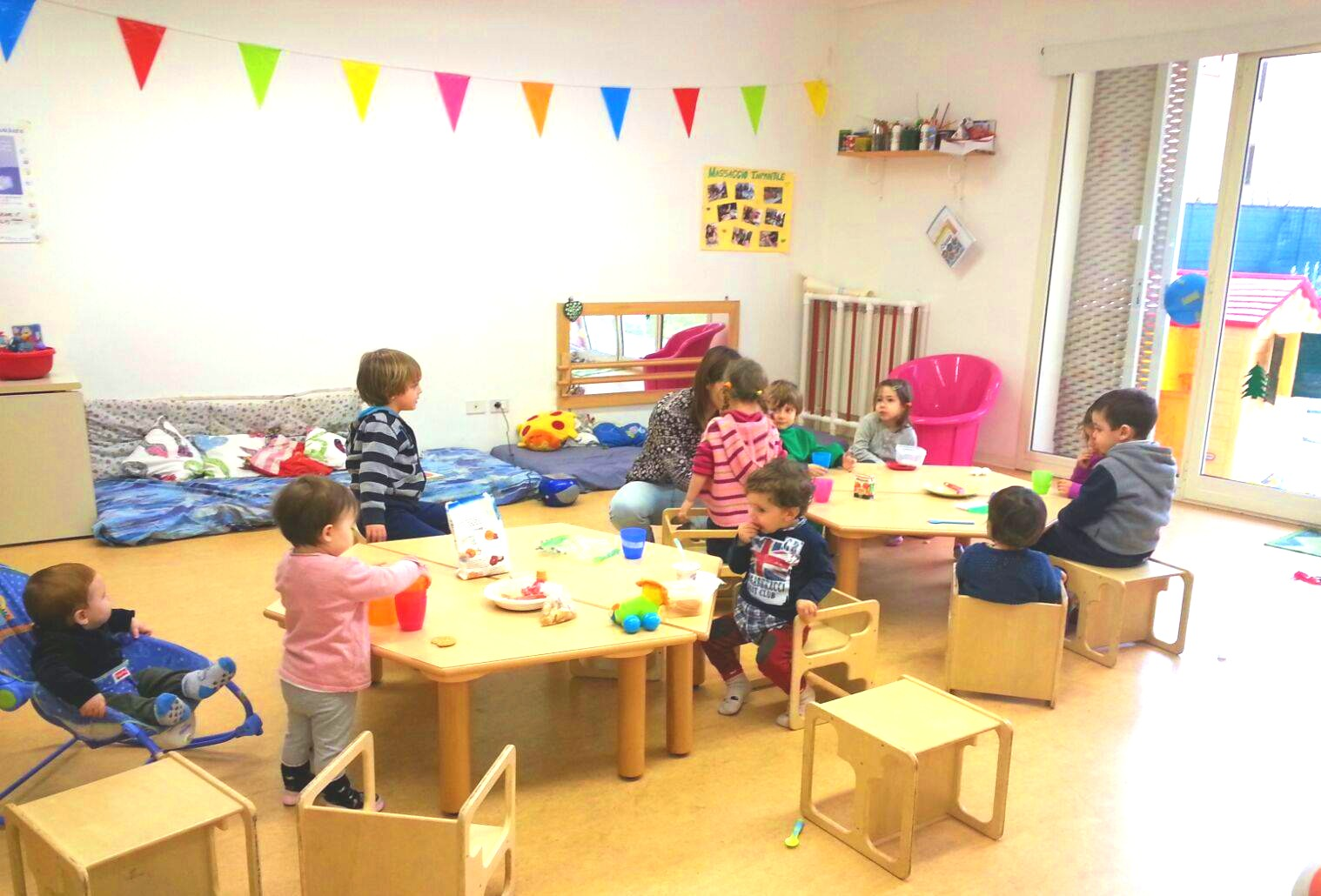 L'alveare coworking with childcare in Florence, Italy.