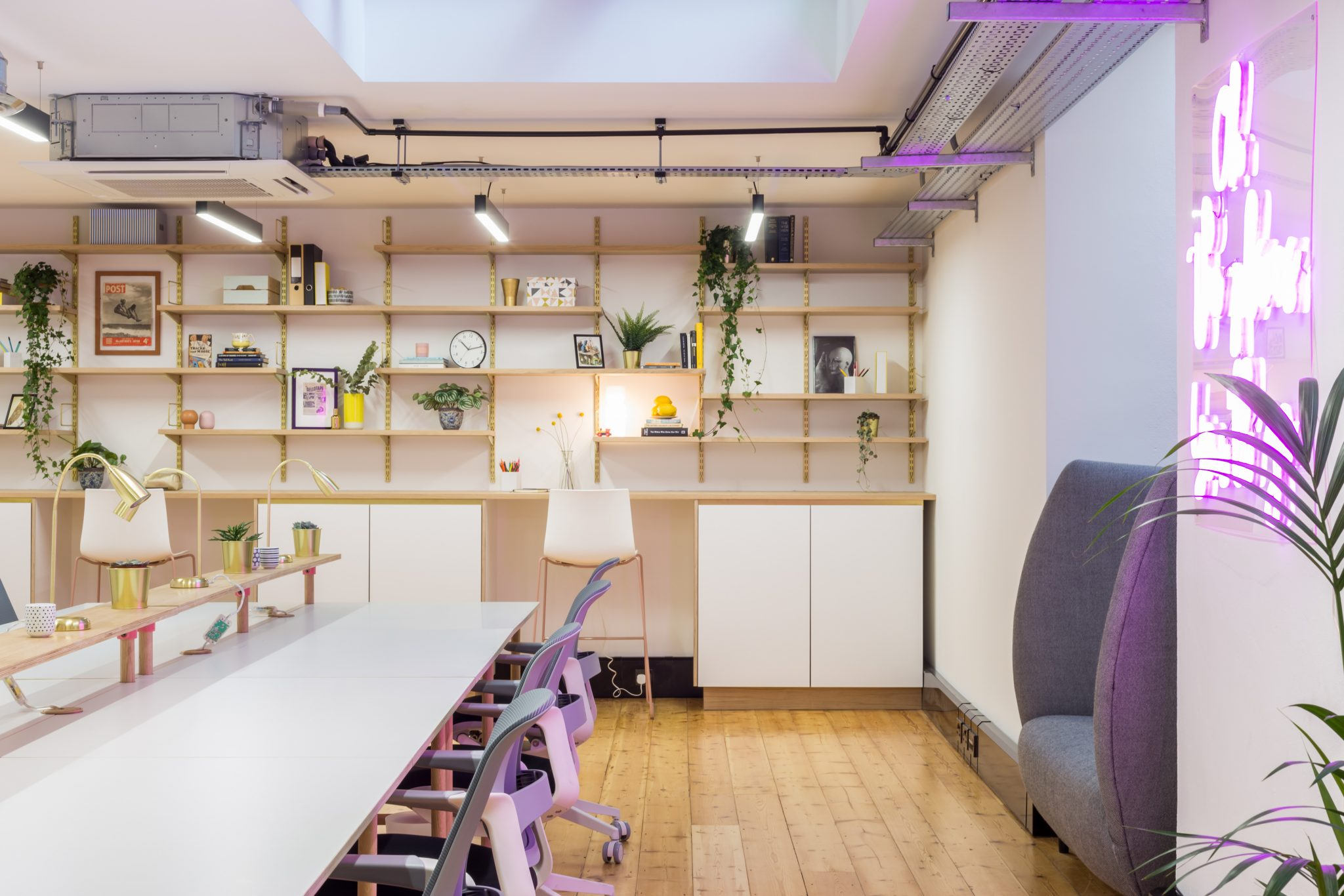 The Cuckooz Nest coworking space in London has childcare.