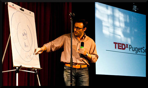 Simon Sinek during one of the most popular Ted talks of all time