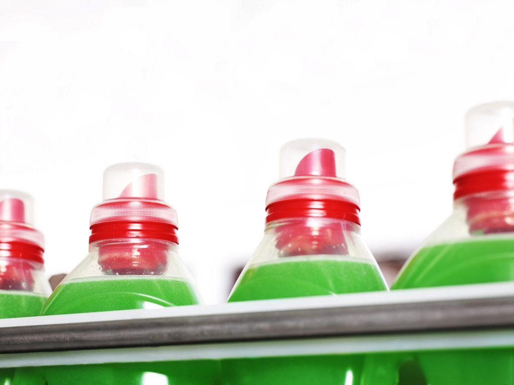 Henkel detergent bottles