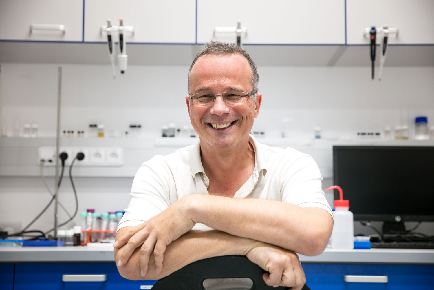 Dr Martin Pumera, who founded Advanced Functional Nanorobots