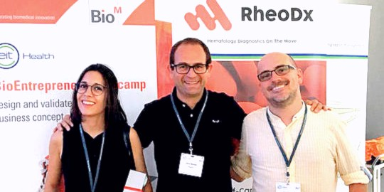 Oliver Balcells RheoDX founder