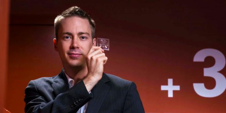 Luc Gervais, 1Drop Diagnostics founder.