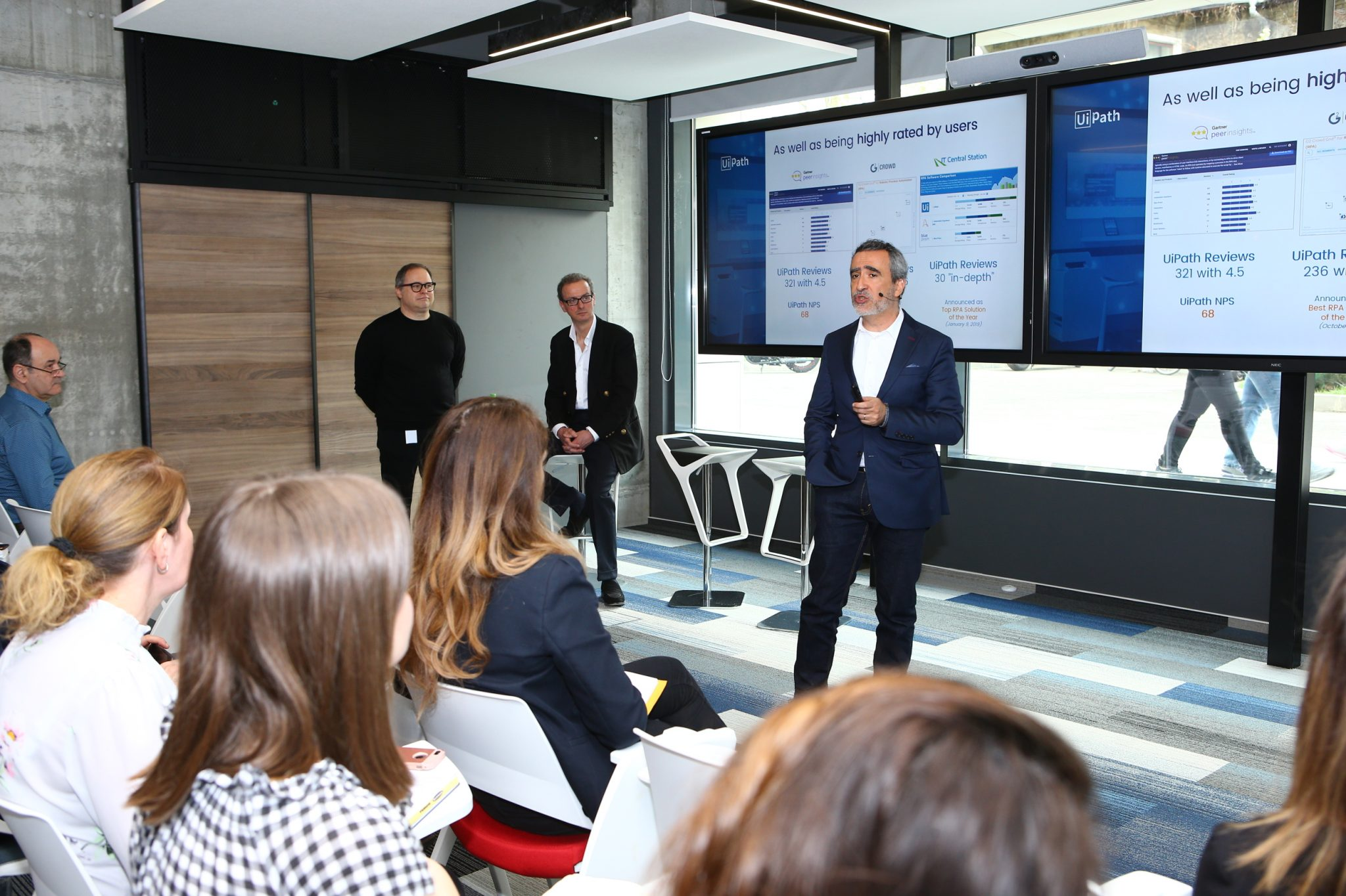 Opening of the UiPath Immersion Lab in Bucharest