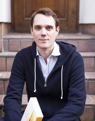 Jonathan Relph founded personalised vitamin startup Vitl