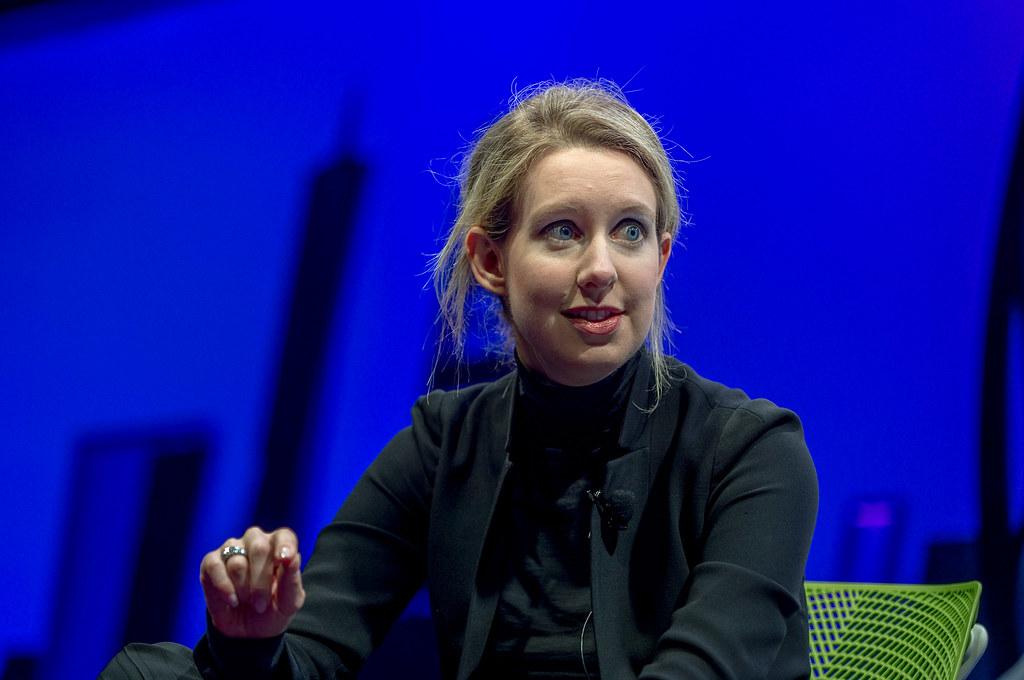 Elizabeth Holmes Theranos CEO