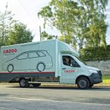 Photo of a Cazoo delivery vehicle.