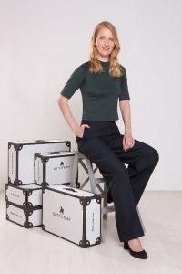 Outfittery founder Julia Bosch.