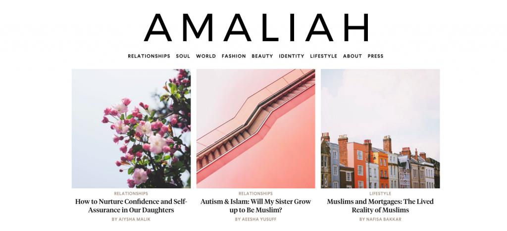 amaliah-website-screenshot