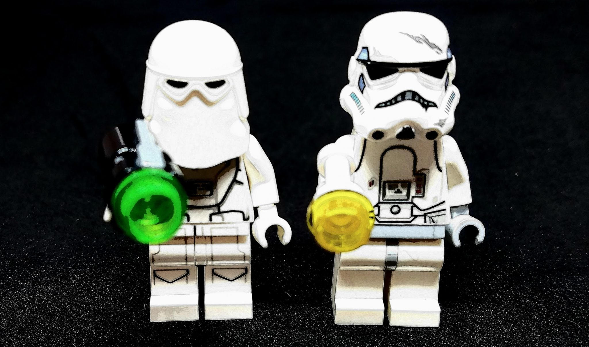 Lego Storm Trooper figures