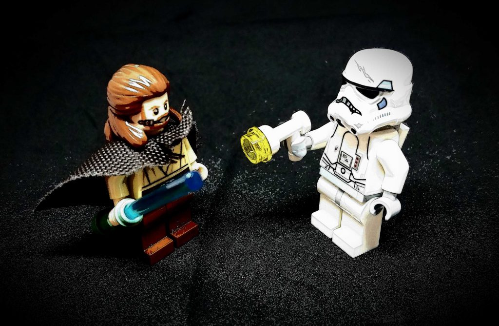 Skywalker Storm Trooper Lego figures