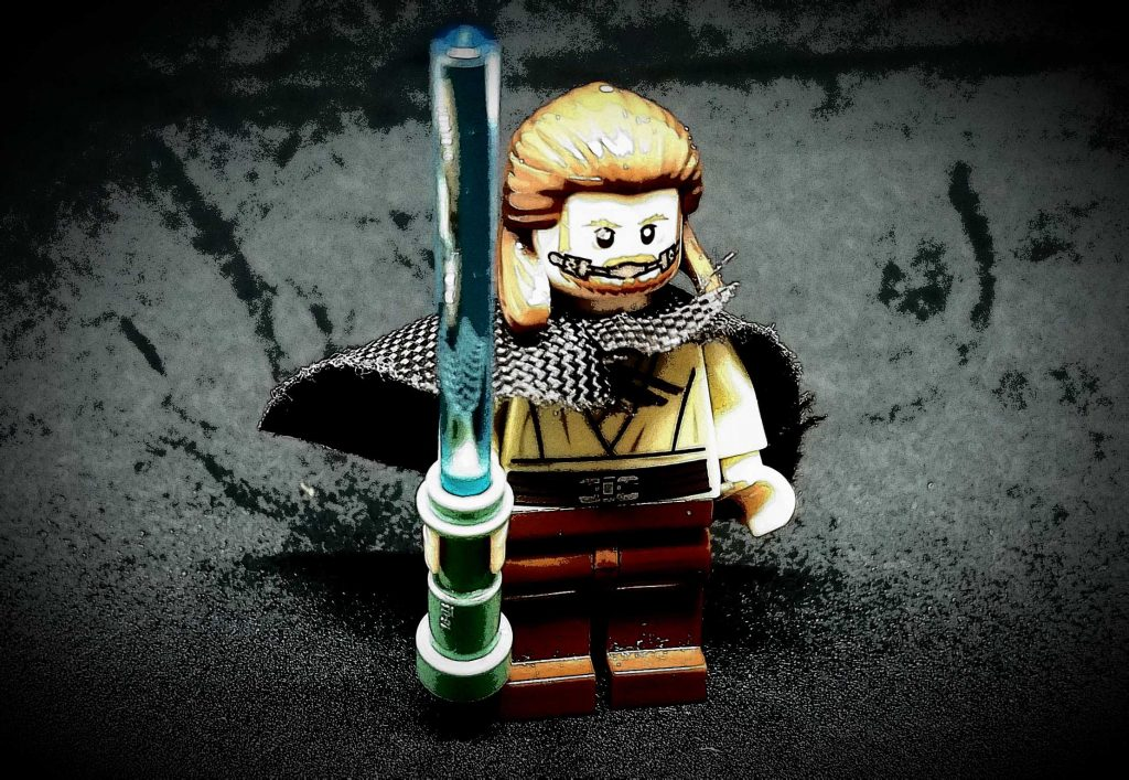 Luke Skywalker Lego figure