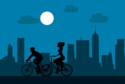 Bike riding cities