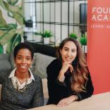 Riya Pabari and Asha Haji, co-founders of Founders Academy
