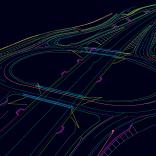 A screenshot of a digital twin of a construction project