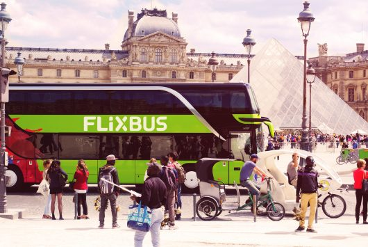 FlixBus in Paris