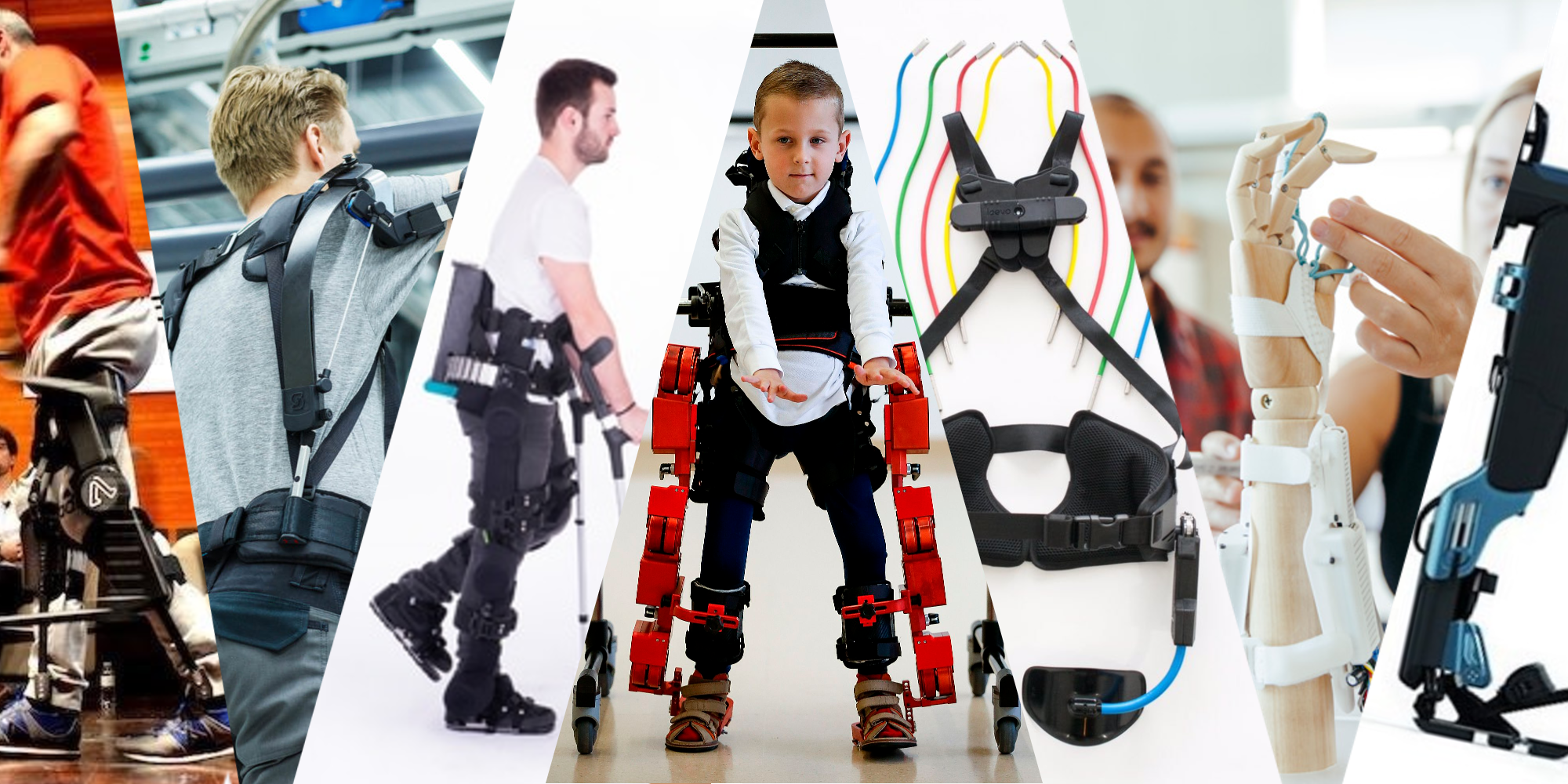 Exoskeleton startups in European healthtech.