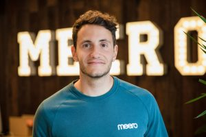 Thomas Rebaud, CEO of Meero