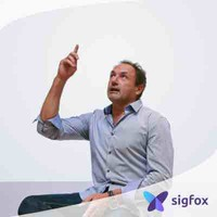 Ludovic Le Moan, CEO of Sigfox