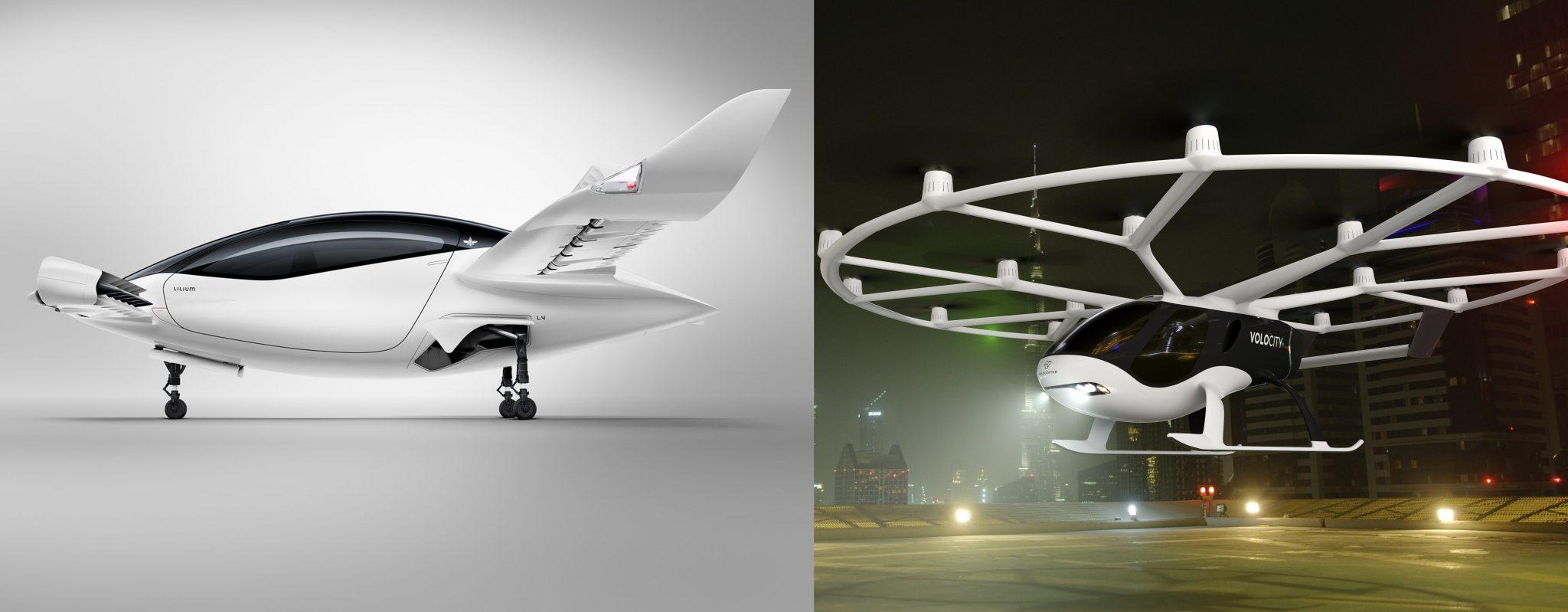 Lilium vs Volocopter